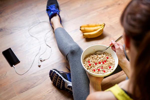 Qué comer antes de entrenar
